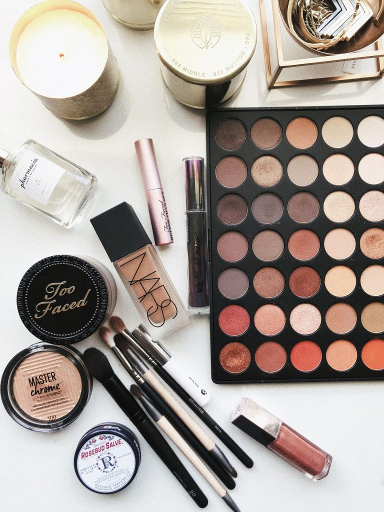 Mærkevarer inden for kosmetik og hudpleje
